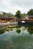 Tirta Empul tempel, Bali 2 Arkivfoto