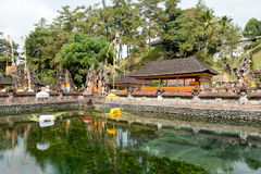 Tirta Empul tempel, Bali 3 Royaltyfria Bilder