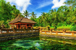 Tirta Empul Temple Royalty Free Stock Images