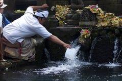 Tirta Empul Temple, Bali, Indonesia Royalty Free Stock Photo