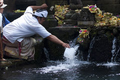 Tirta Empul Temple, Bali, Indonesia Royalty Free Stock Photo