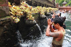 Tirta Empul Temple, Bali , Indonesia. royalty free stock photo