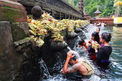 Tirta Empul Temple, Bali , Indonesia. Stock Images