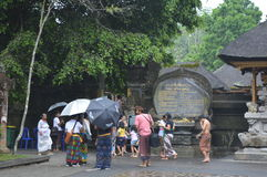 Tirta Empul Temple Stock Photography