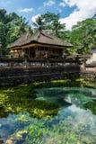 Tirta Empul, temple de l'eau de Balinese Photographie stock libre de droits