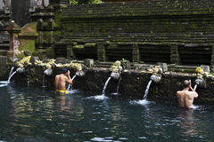 Tirta Empul temple - sacred bathing - Bali - Indon Royalty Free Stock Image