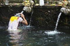 Tirta Empul temple - sacred bathing - Bali - Indonesia Stock Image