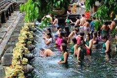 Tirta empul w Bali zdjęcie stock