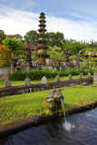 Tirta Gangga Castle. In Amlapura in Bali Island, is a beautiful water castle. The meaning is the water from the Gangges', a prominent place for hinduism worship Stock Images