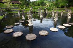 Tirta Gangga Castle Stock Photo