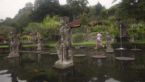 Tirta Gangga na Bali hinduska świątynia zbiory