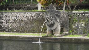Tirta Gangga su Bali Tempiale indù Immagine Stock Libera da Diritti