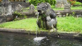Tirta Gangga su Bali Tempiale indù fotografia stock
