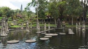 Tirta Gangga su Bali Tempiale indù fotografie stock libere da diritti