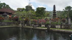 Tirta Gangga su Bali Tempiale indù immagini stock