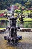 Tirta Gangga vattenslott Bali, Indonesien royaltyfri bild