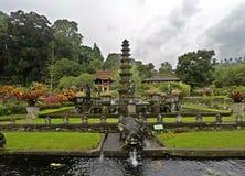 Tirta Gangga vattenslott i Bali, Indonesien royaltyfria foton
