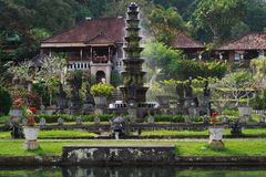 Tirta Gangga water palace Royalty Free Stock Photo