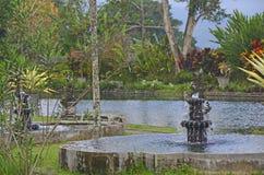 Tirta Gangga. Water palace garden Royalty Free Stock Image