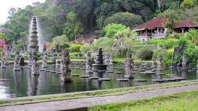Tirta Gangga wody pałac na Bali zbiory