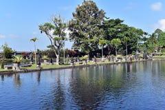 Tirta Gangga wody pałac w Bali obraz stock