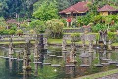 Tirta Gangga wody pałac na Bali wyspie Zdjęcie Royalty Free