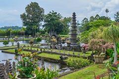 Tirta Gangga wody pałac na Bali wyspie Zdjęcie Stock