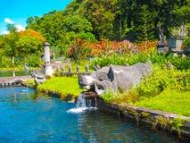 Tirtaganga nawadnia pałac przy Bali wyspą w Indonezja Fotografia Stock