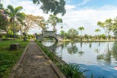 Tirtagangga水宫殿 图库摄影