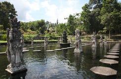 Tirtagangga水宫殿  免版税库存图片