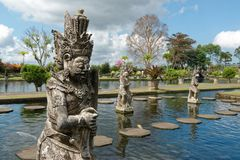 Tirtagangga Water Palace. Tirta Gangga literally means water from the Ganges and it is a site of some reverence for the Hindu Balinese. Strictly, the name refers Royalty Free Stock Photography