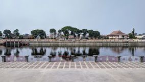 Free Tirtonadi Dam View With Water Reflection. Solo, Central Java Royalty Free Stock Photos - 159202098