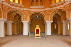 tirumalai дворца nayak madurai стоковое изображение rf