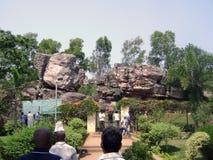 Tirupati wzgórza Świątynna stacja Zdjęcie Stock