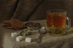 Tisana rustica fragrante immagini stock libere da diritti