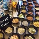 Tisanas herbarias Foto de archivo libre de regalías