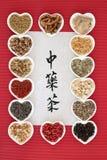 Tisane cinesi Fotografie Stock