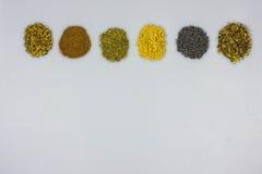 Tisane ingredients Royalty Free Stock Image