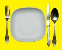 Tischbesteck Stockfoto