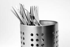 Tischbesteck-Set Stockbild