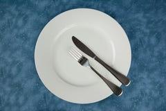 Tischbesteck und Tonware Lizenzfreie Stockfotografie