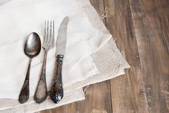 Tischbesteckeinstellung Lizenzfreie Stockbilder