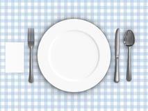 Tischdecke lizenzfreie abbildung