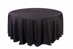 Tischdecke auf Tabelle Stockfoto
