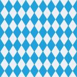 Tischdecke mit Bayernmuster Lizenzfreies Stockfoto