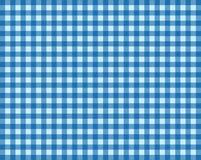 Tischdecken-Hintergrund hellblau und dunkelblau Lizenzfreies Stockfoto