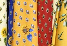 Tischdecken von Frankreich Lizenzfreies Stockfoto