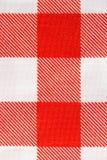 Tischdeckenbeschaffenheits-Detailhintergrund Lizenzfreie Stockbilder