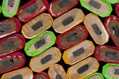Tischler Pencil Ends Lizenzfreies Stockbild