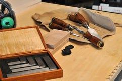 Tischler-Werkzeuge Lizenzfreie Stockbilder